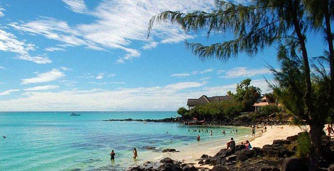 Mauritius spiaggia Grand Baie