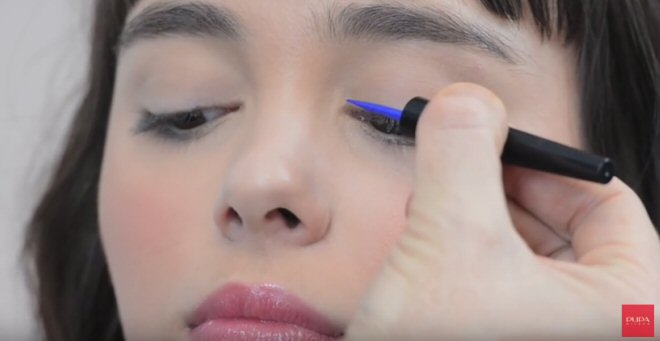 tutorial applicare eyeliner