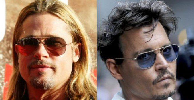 Brad Pitt e Johnny Depp