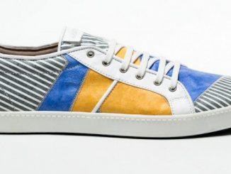 scarpe cartina